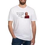 Dalai Lama 3 Fitted T-Shirt