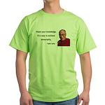 Dalai Lama 3 Green T-Shirt