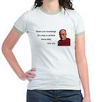 Dalai Lama 3 Jr. Ringer T-Shirt