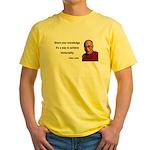 Dalai Lama 3 Yellow T-Shirt