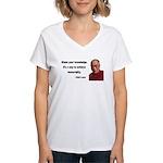 Dalai Lama 3 Women's V-Neck T-Shirt
