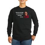 Dalai Lama 3 Long Sleeve Dark T-Shirt