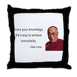 Dalai Lama 3 Throw Pillow