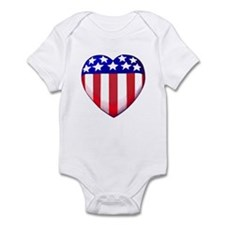 MY AMERICAN HEART Infant Bodysuit