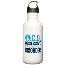 Christmas Obsessed Water Bottle