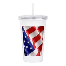 American Flag Acrylic Double-wall Tumbler