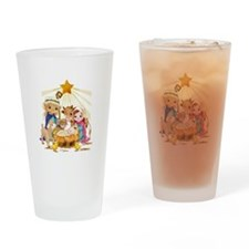 Nativity- Drinking Glass