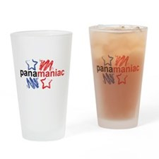 Cute Panama flag Drinking Glass