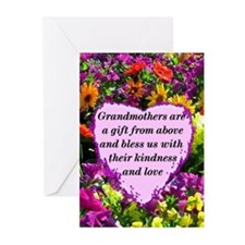 BLESSED GRANDMA Greeting Cards (Pk of 10)