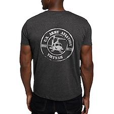 2-Sided Aviation Vietnam Dark T-Shirt