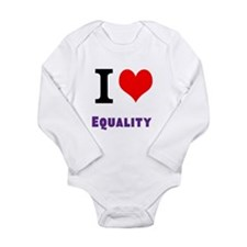 I Love Equality Body Suit