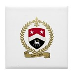 ARSENEAULT Family Crest Tile Coaster