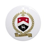 ARSENEAULT Family Crest Ornament (Round)