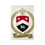 ARSENEAULT Family Crest Rectangle Magnet