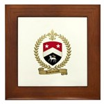 ARSENEAULT Family Crest Framed Tile