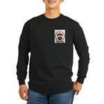 ARSENEAULT Family Crest Long Sleeve Dark T-Shirt