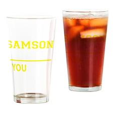 Funny Samson Drinking Glass