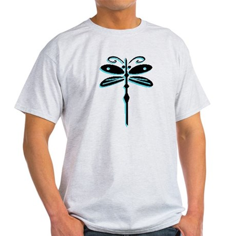 Teal Dragonfly Light T-Shirt