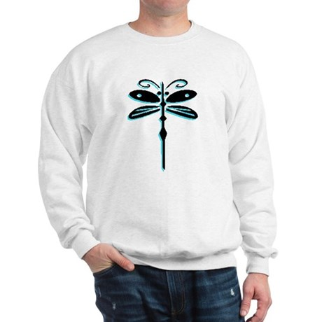 Teal Dragonfly Sweatshirt
