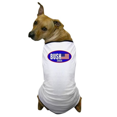George Bush 2004 Dog T-Shirt
