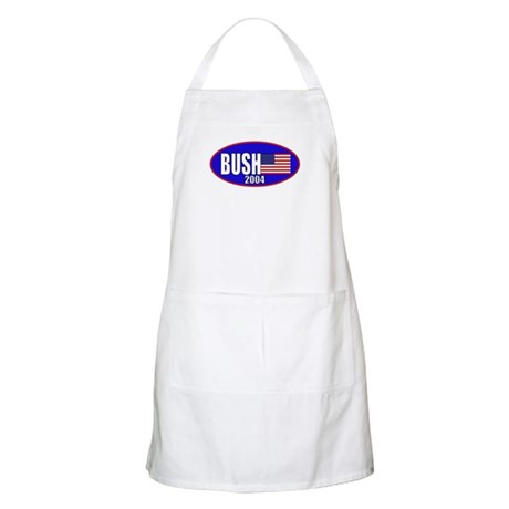 George Bush 2004 BBQ Apron