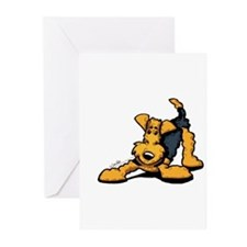 Cute Off the leash Greeting Cards (Pk of 10)