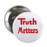 Truth Matters Button (Red)