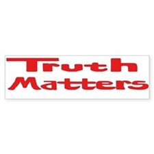 Truth Matters Sticker (Bumper Red)