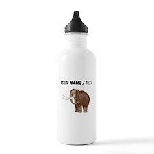 Woolly Mammoth (Custom) Water Bottle