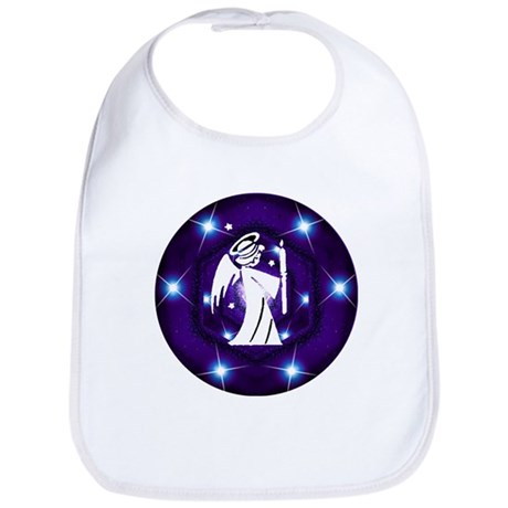 Starry Night Angel Bib