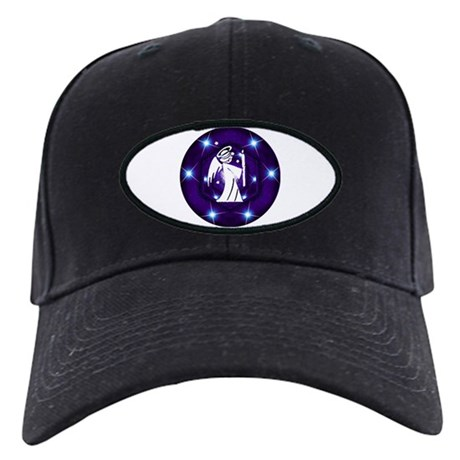 Starry Night Angel Black Cap