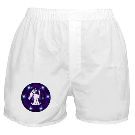 Starry Night Angel Boxer Shorts