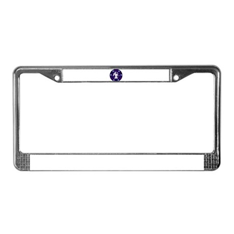Starry Night Angel License Plate Frame