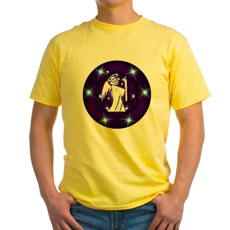 Starry Night Angel Yellow T-Shirt