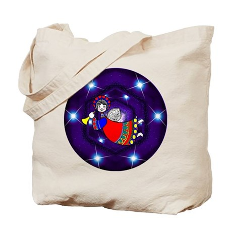 Flying Angel Tote Bag