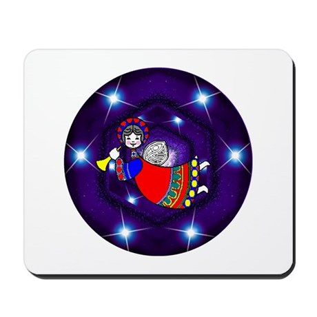 Flying Angel Mousepad