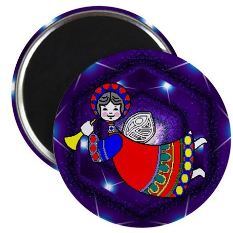 "Flying Angel 2.25"" Magnet (100 pack)"