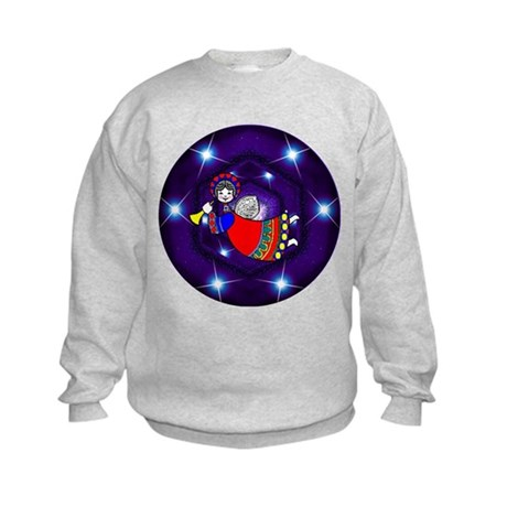 Flying Angel Kids Sweatshirt