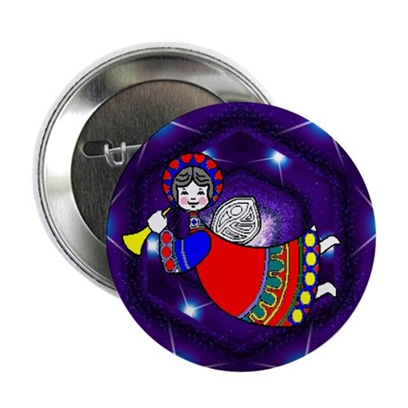 "Flying Angel 2.25"" Button (100 pack)"