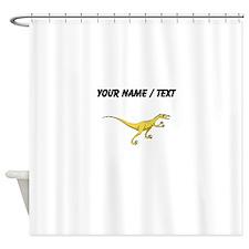 Velociraptor (Custom) Shower Curtain