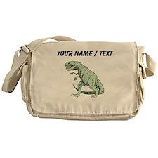 Tyrannosaurus Rex (Custom) Messenger Bag
