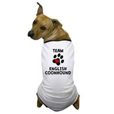 Team English Coonhound Dog T-Shirt