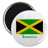"Jamaica Flag 2.25"" Magnet (10 pack)"