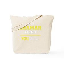 Cute Shamar Tote Bag