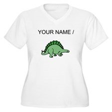 Green Stegosaurus (Custom) Plus Size T-Shirt