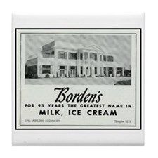 Borden's Dairy Tile Coaster