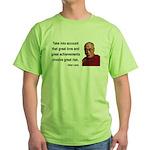 Dalai Lama 7 Green T-Shirt