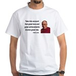 Dalai Lama 7 White T-Shirt
