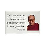 Dalai Lama 7 Rectangle Magnet (100 pack)