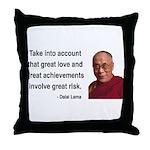 Dalai Lama 7 Throw Pillow